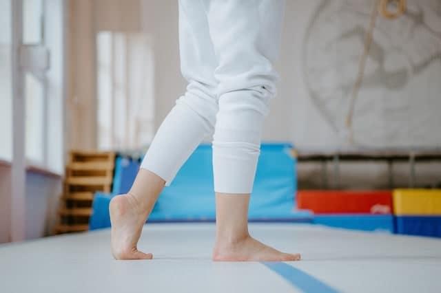 Avoir des pieds de danseuse